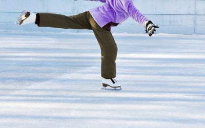 Ice Skating at Canaan Resort