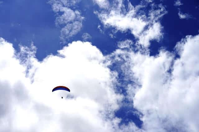 Paragliding Near Canaan Valley